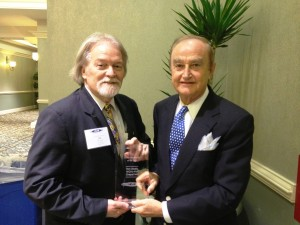 Ron Stutts with Wade Hargrove - 2012 NCAB Personality of the Year (June 24, 2013)