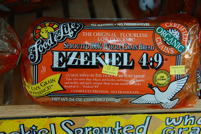 nurse tips ezekiel bread