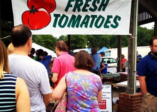 Tomato Day Brings Crowds to Carrboro Market