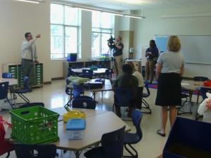 Northside Elementary School classroom