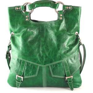 Fall Fashion Emerald Green Bag