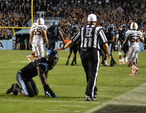 Norkeithus Otis caused a Miami turnover on this play.