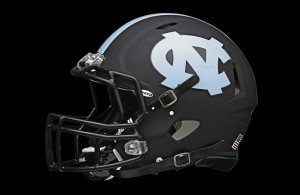 UNC Black Helmet