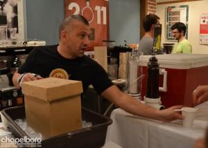 Scott Conary of Carrboro Coffee Roasters.