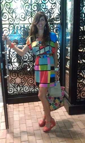 The Color Block Dress