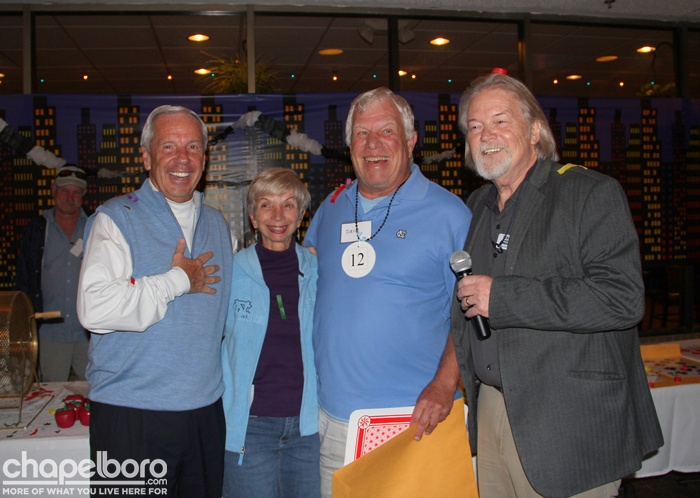 Roy Williams, Marcia Tauber, Dave Tauber, Ron Stutts