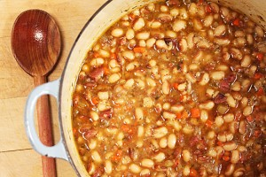 Rancho-Gordo-Yellow-Eye-Bean-Pot