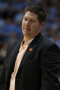 A disgusted Brad Brownell (Todd Melet)