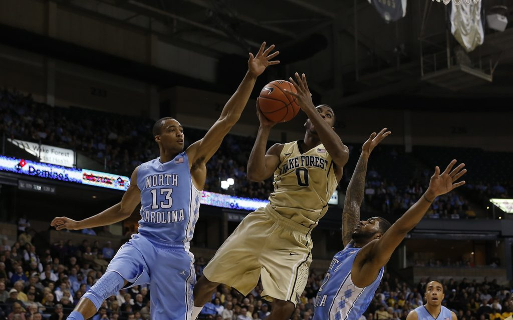 No. 19 UNC MBB Falls 73-67 In ACC Opener to Wake With Erratic Play
