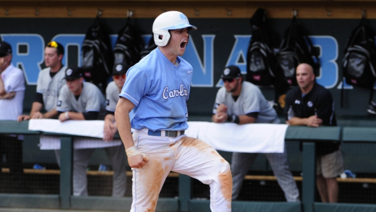 Carolina Baseball Cruises Past Appalachian State 12-1