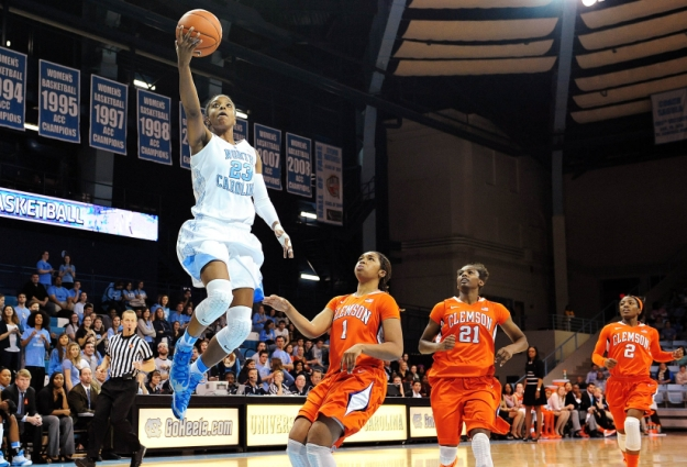 No. 9 Tar Heels Handily Dispatch Tigers
