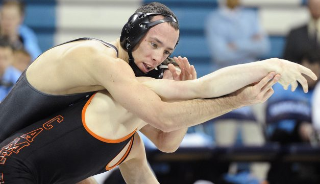Carolina Wrestler Henderson Stumbles in QF Action at Southern Scuffle