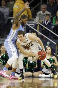 McDonald playing tight defense (Todd Melet)