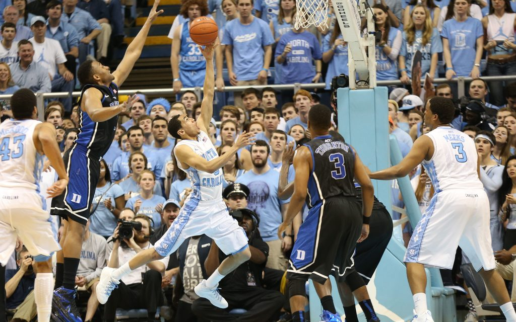 Tar Heels Deliver Gutty 74-66 Performance To Stave Off No. 5 Blue Devils