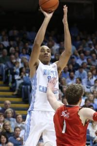 Johnson rising up over A Terrapin defender. (Todd Melet)