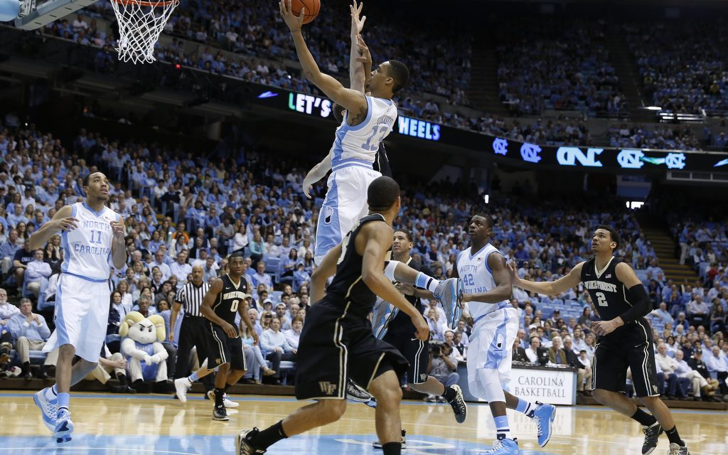 Surging Tar Heels Glide By Demon Deacons 105-72, Earn Ninth Straight Win