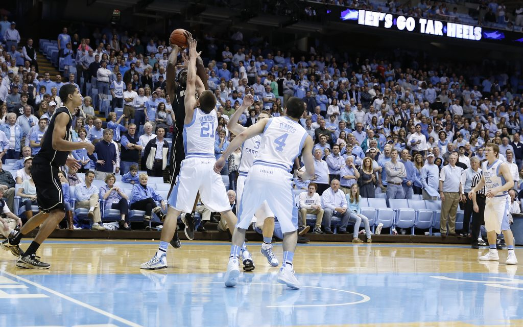 No. 19 Tar Heels To Face Upset-Minded Wolfpack