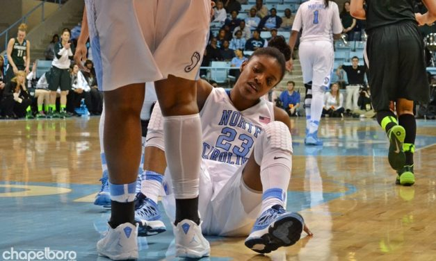 Tar Heels Bracing For 'Track Meet' Elite Eight With Coach Hatchell Inspiration