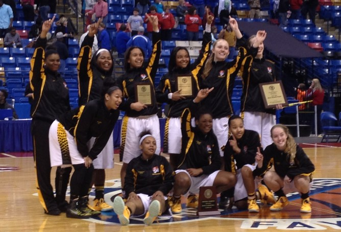 CHHS Girls' Basketball Sneaks Into State Final Next Saturday