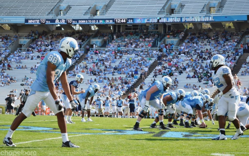 Spring Football Game Offers No Resolution To UNC QB Battle