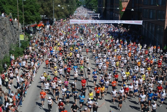 A Year Later, Boston Makes Triumphant Return At Marathon