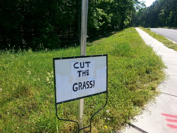 Cut The Grass!