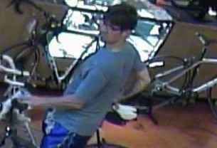 CH Police Looking for Bike Thief With Expensive Tastes