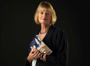 Author Nancy Stancill (photo courtesy Mayra Beltran, Houston Chronicle)