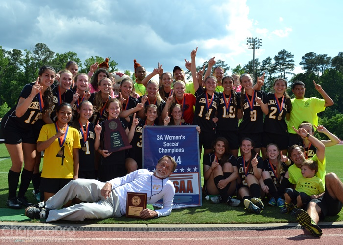 CHHS Women's Soccer Wins State Title