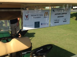 Jamison/May golf cart (Matt Oakes)