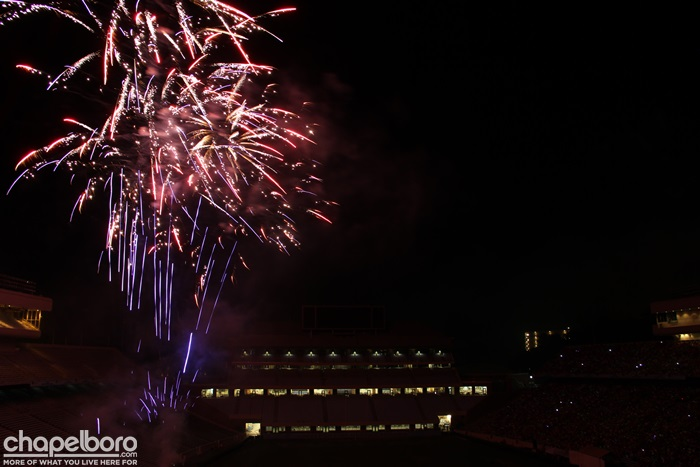 4th of July at Kenan Stadium!
