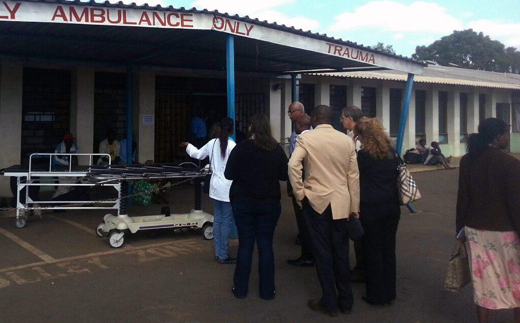 UNC Surgeons Open Malawian Burn Unit