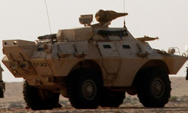OC Leads NC In Military Surplus Armored Vehicles For Police