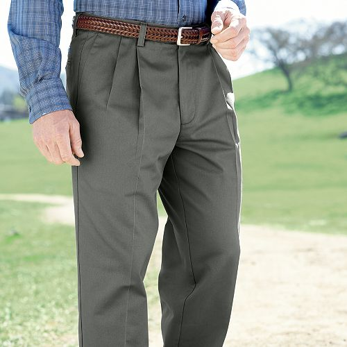 Fashion -men's pleated pants