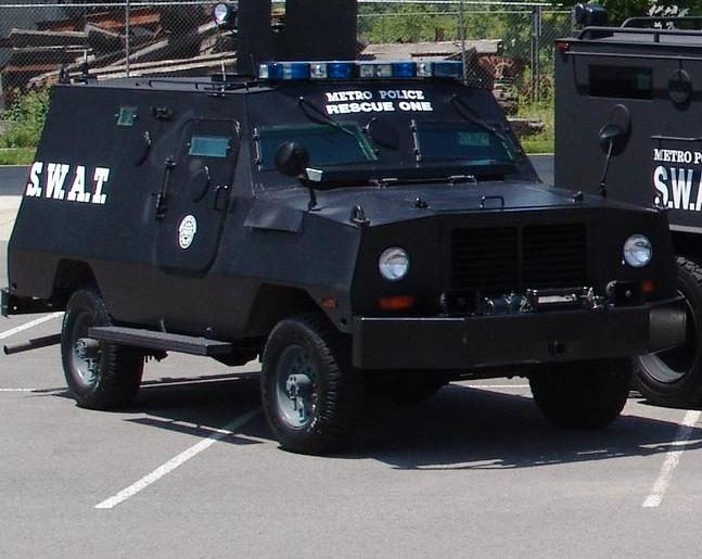 CHPD: One Armored Truck, No Weapons From Military Surplus Program