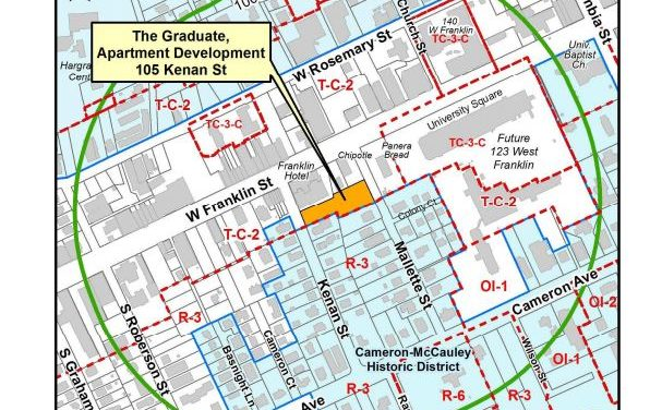 Council Hears Plans For Graduate Housing Downtown