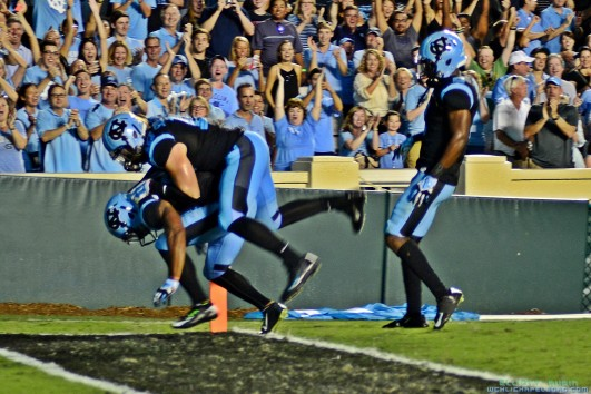 Veteran Tar Heels Prepping UNC Youth for Saturday Showdown