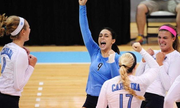 UNC Volleyball Up One Spot In AVCA Poll