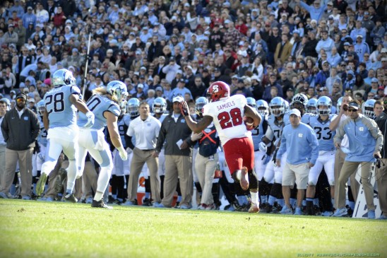 Wolfpack Thrashes Williams, Tar Heels