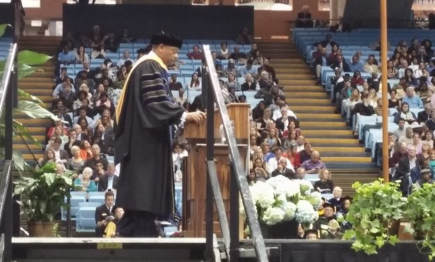 2,182 Students Turn Their Tassels at UNC Winter Commencement