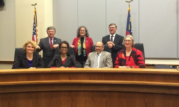 BoCC Commends Elected Officials, Welcomes New Members, Extends Chapel Hill's ETJ