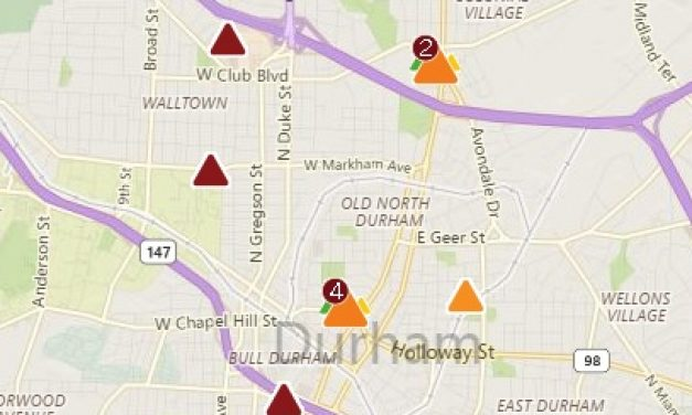 Power Restored to 13,000 Customers in Durham