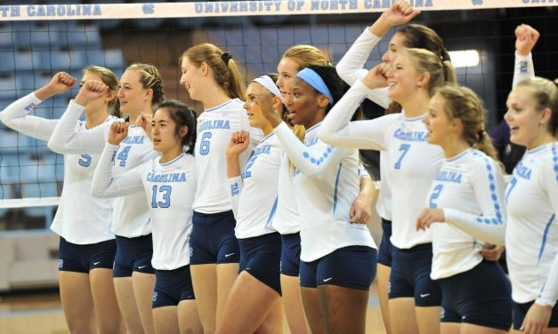 UNC Volleyball Ranked 11th in AVCA Preseason Poll