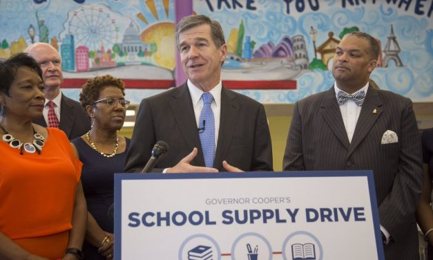 Governor Roy Cooper Kicks Off State-Wide School Supply Drive