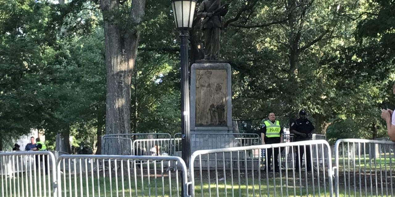 3 Face Charges at UNC Confederate Statue Protest