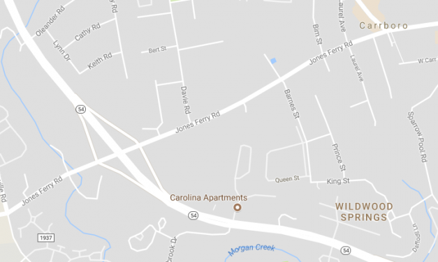Jones Ferry Road in Carrboro Reopens After Police Chase