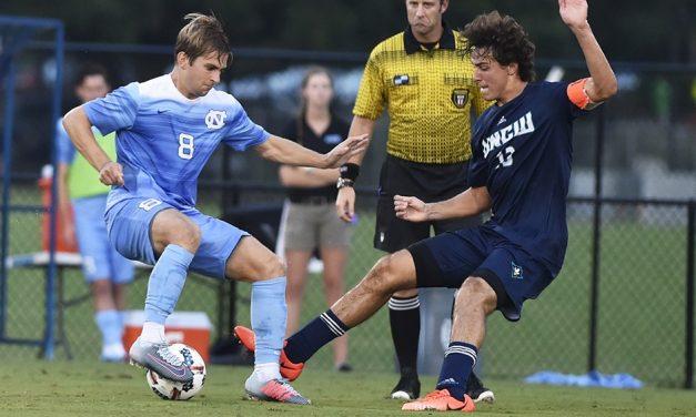 UNCW Hands UNC Men's Soccer First Loss of Season