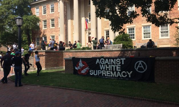 Students Make Noise For Silent Sam Protest