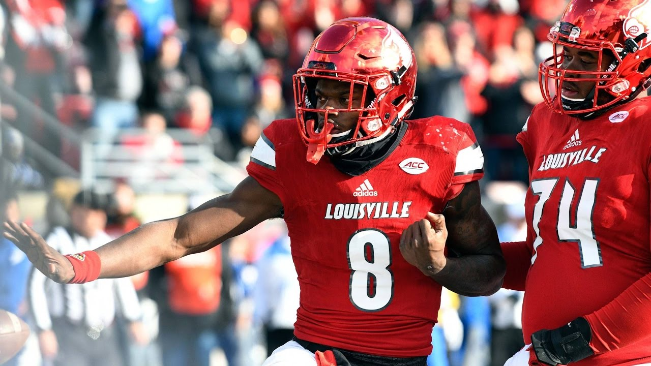 Lamar Jackson makes Heisman worthy throw