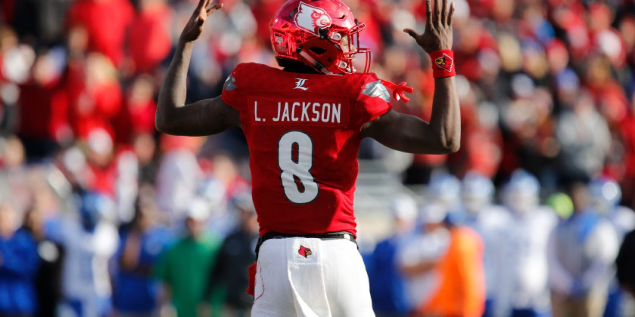 Tar Heels Preparing For Unique Test Against Louisville QB Lamar Jackson